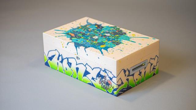 Huyền thoại graffiti gốc Việt Cyril Phan và hành trình theo đuổi sự xuất sắc - Ảnh 1.