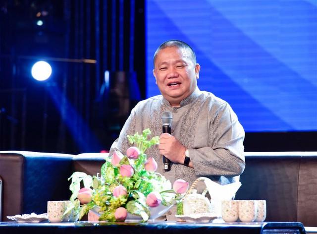 Chủ tịch tập đoàn Tôn Hoa Sen - ông Lê Phước Vũ quy y Tam Bảo - Ảnh 4.