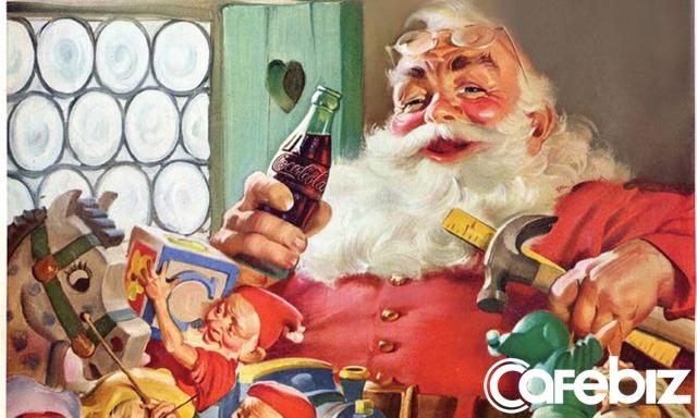 Bí mật bất ngờ: Chính Coca-Cola một tay dựng nên hình tượng ông già Noel bụng phệ, râu trắng khoác áo đỏ huyền thoại của dịp giáng sinh - Ảnh 2.