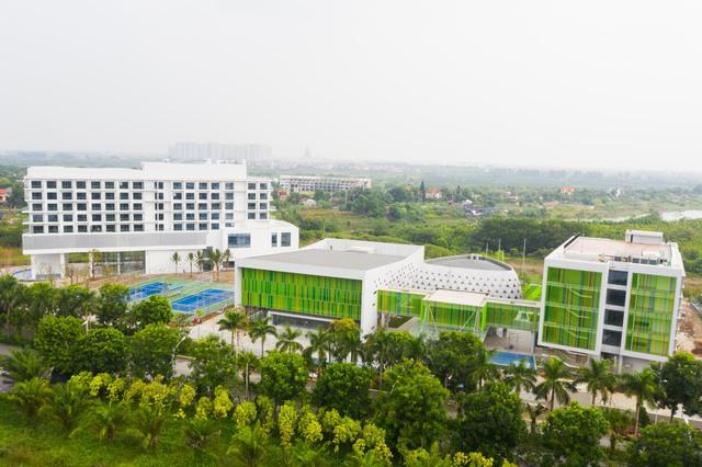 Vietcombank xây trung tâm đào tạo tại Ecopark: Xanh-sang-xịn, có hồ bơi, sân bóng như một khu nghỉ dưỡng đẳng cấp - Ảnh 3.