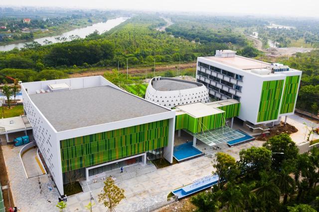 Vietcombank xây trung tâm đào tạo tại Ecopark: Xanh-sang-xịn, có hồ bơi, sân bóng như một khu nghỉ dưỡng đẳng cấp - Ảnh 5.