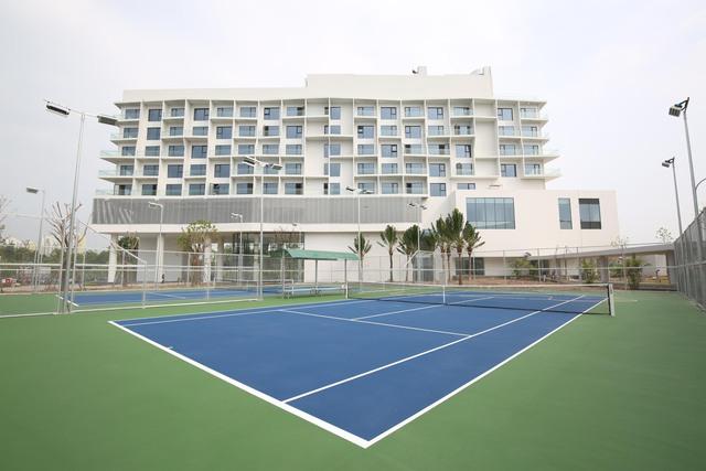 Vietcombank xây trung tâm đào tạo tại Ecopark: Xanh-sang-xịn, có hồ bơi, sân bóng như một khu nghỉ dưỡng đẳng cấp - Ảnh 8.