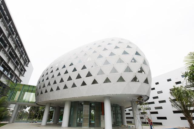Vietcombank xây trung tâm đào tạo tại Ecopark: Xanh-sang-xịn, có hồ bơi, sân bóng như một khu nghỉ dưỡng đẳng cấp - Ảnh 7.