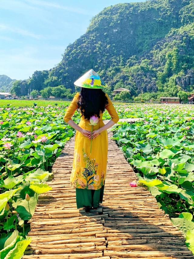 Đến Hang Múa, Ninh Bình ngập trong sắc sen hồng: Trọn vẹn 1 ngày cuối tuần rời xa thành thị xô bồ, chiêm ngưỡng vẻ đẹp thiên nhiên xanh mướt - Ảnh 1.