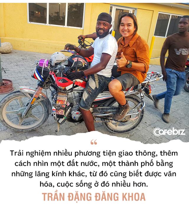 1111 ngày vòng quanh thế giới bằng xe máy, phượt thủ Trần Đặng Đăng Khoa: Càng đi càng thấy mình 'hai lúa', kiến thức hạn hẹp... - Ảnh 5.