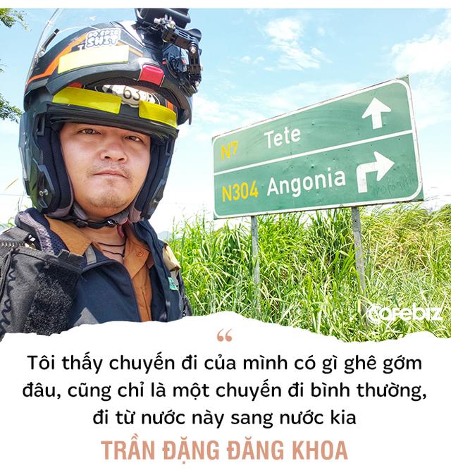 1111 ngày vòng quanh thế giới bằng xe máy, phượt thủ Trần Đặng Đăng Khoa: Càng đi càng thấy mình 'hai lúa', kiến thức hạn hẹp... - Ảnh 9.