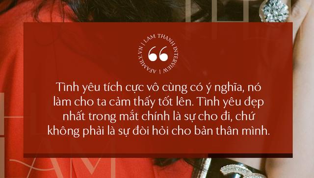 Thanh Lam ở độ tuổi 50: Ở đây có một người đàn bà đang yêu và được yêu - Ảnh 13.
