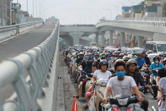 Choáng ngợp khung cảnh đường Trường Chinh từ trên cao, con đường đau khổ ngày nào giờ nhìn thôi cũng sướng! - Ảnh 14.