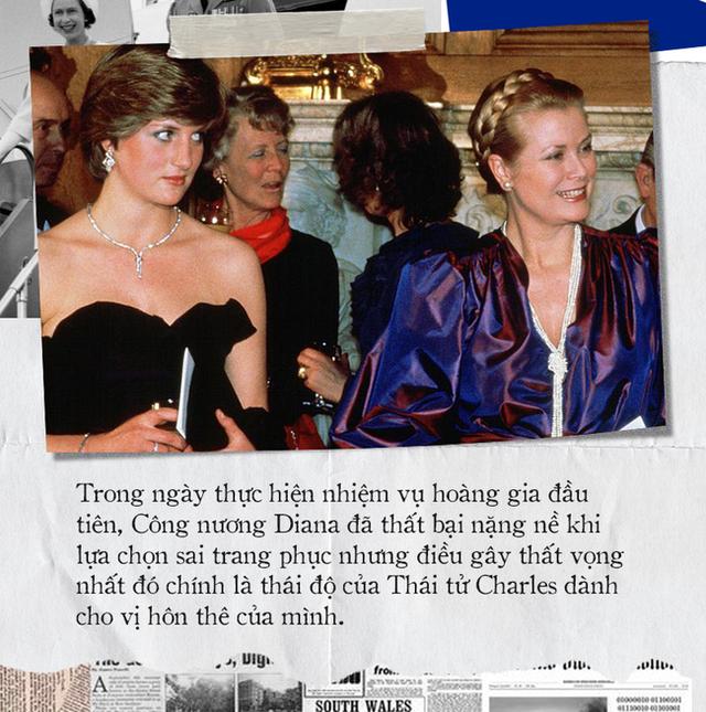Thử thách đầu tiên của Công nương Diana khi làm dâu hoàng gia: Bị Thái tử Charles mắng mỏ thậm tệ, trở thành thảm họa không ai muốn nhắc đến - Ảnh 4.