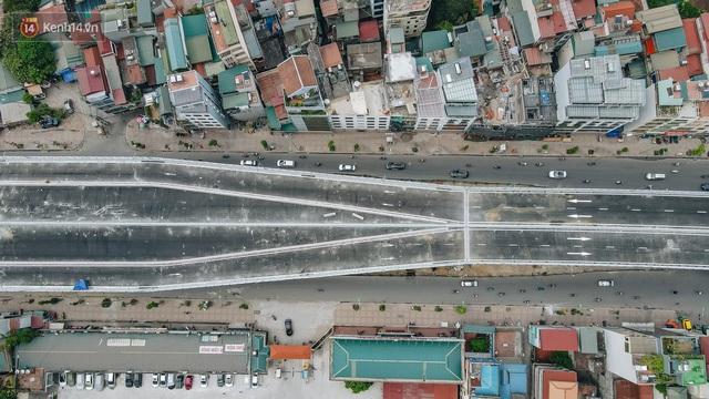 Clip, ảnh: Người Hà Nội thích thú với diện mạo mới của đường Trường Chinh đau khổ - Ảnh 3.