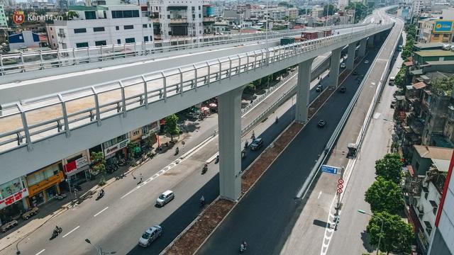 Clip, ảnh: Người Hà Nội thích thú với diện mạo mới của đường Trường Chinh đau khổ - Ảnh 4.