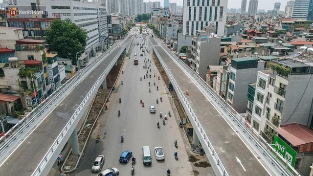 Clip, ảnh: Người Hà Nội thích thú với diện mạo mới của đường Trường Chinh đau khổ - Ảnh 5.