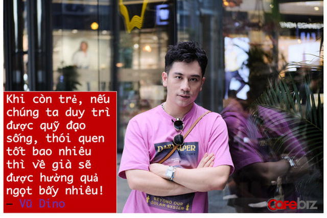 Food blogger Vũ Dino: Khi bạn đủ mạnh, đủ chín, đủ tự tin... thì việc đối mặt với khủng hoảng độ tuổi 27, 30, hay 35 sẽ ít bầm dập, ít thương tích hơn rất nhiều! - Ảnh 1.