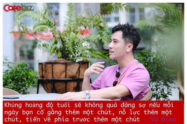 Food blogger Vũ Dino: Khi bạn đủ mạnh, đủ chín, đủ tự tin... thì việc đối mặt với khủng hoảng độ tuổi 27, 30, hay 35 sẽ ít bầm dập, ít thương tích hơn rất nhiều! - Ảnh 2.