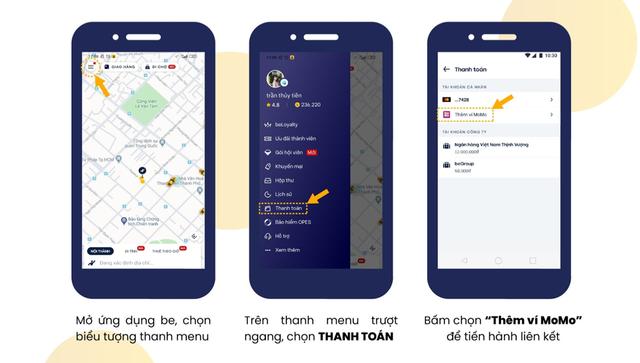 Bắt tay với ví điện tử Việt sở hữu gần 20 triệu người dùng, be có thêm lợi thế để cạnh tranh với Grab - Ảnh 1.