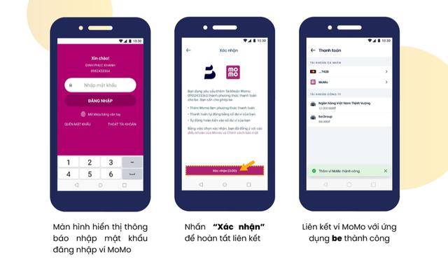 Bắt tay với ví điện tử Việt sở hữu gần 20 triệu người dùng, be có thêm lợi thế để cạnh tranh với Grab - Ảnh 2.