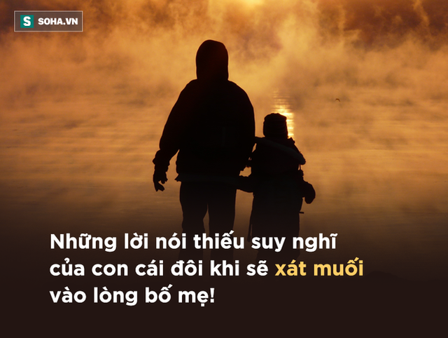 Những lời này, con cái tuyệt đối không được mở miệng nói với cha mẹ: Dù là ai cũng cần phải nhớ! - Ảnh 1.