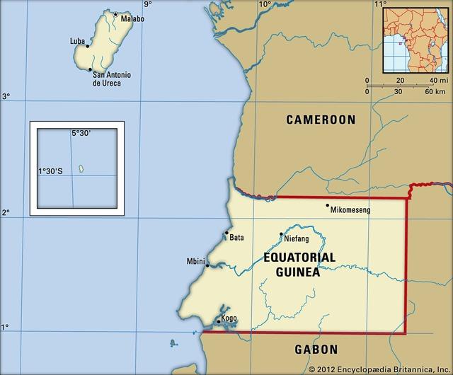 Guinea Xích Đạo là quốc gia nào? - Ảnh 1.