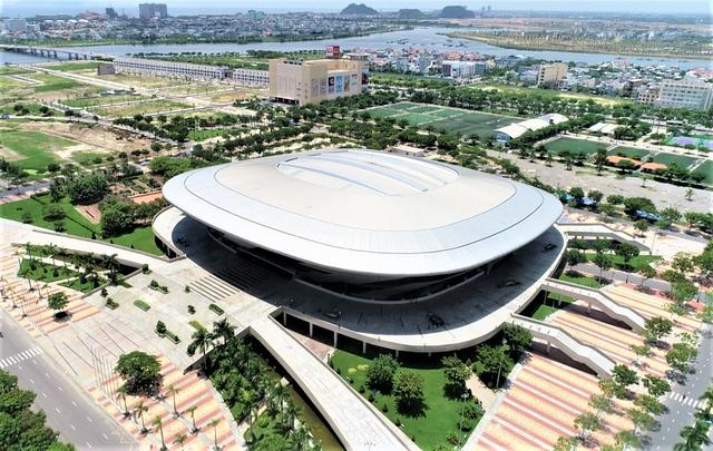 Ảnh: Cận cảnh cung thể thao sẽ trở thành bệnh viện dã chiến chống Covid-19 ở Đà Nẵng - Ảnh 1.