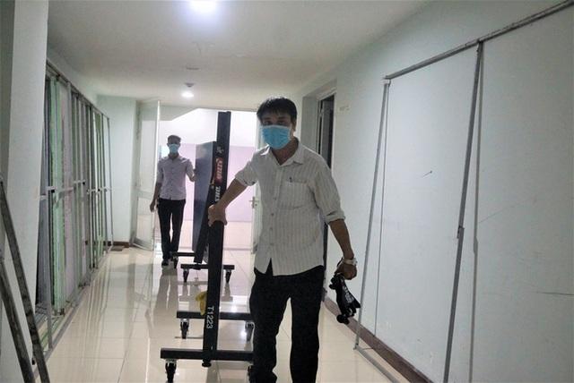 Ảnh: Cận cảnh cung thể thao sẽ trở thành bệnh viện dã chiến chống Covid-19 ở Đà Nẵng - Ảnh 13.