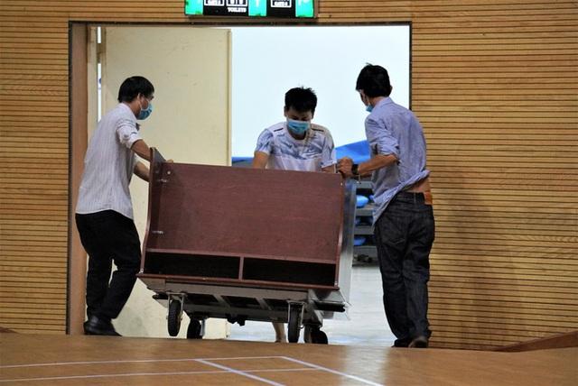Ảnh: Cận cảnh cung thể thao sẽ trở thành bệnh viện dã chiến chống Covid-19 ở Đà Nẵng - Ảnh 14.
