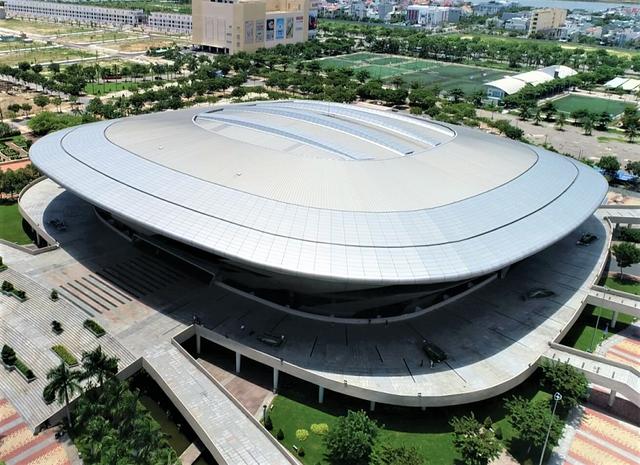 Ảnh: Cận cảnh cung thể thao sẽ trở thành bệnh viện dã chiến chống Covid-19 ở Đà Nẵng - Ảnh 20.