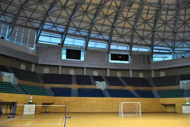 Ảnh: Cận cảnh cung thể thao sẽ trở thành bệnh viện dã chiến chống Covid-19 ở Đà Nẵng - Ảnh 5.