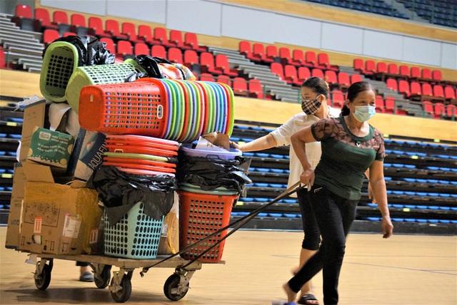 Ảnh: Cận cảnh cung thể thao sẽ trở thành bệnh viện dã chiến chống Covid-19 ở Đà Nẵng - Ảnh 8.
