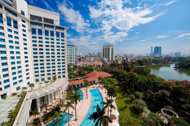 """Mùa Covid-19 tranh thủ rủ gia đình """"staycation"""" tại các khách sạn sang chảnh Hà Nội: Xếp hạng toàn 4,5 sao nhưng giá chỉ trên dưới 1 triệu đồng/đêm - Ảnh 11."""