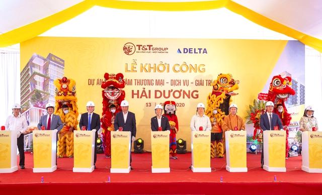 T&T Group khởi công xây dựng TTTM tại trung tâm thành phố Hải Dương - Ảnh 1.