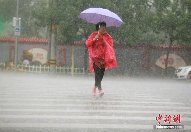 Miền Bắc Trung Quốc mưa lớn, đập Tam Hiệp sắp đón lũ mới - Ảnh 1.