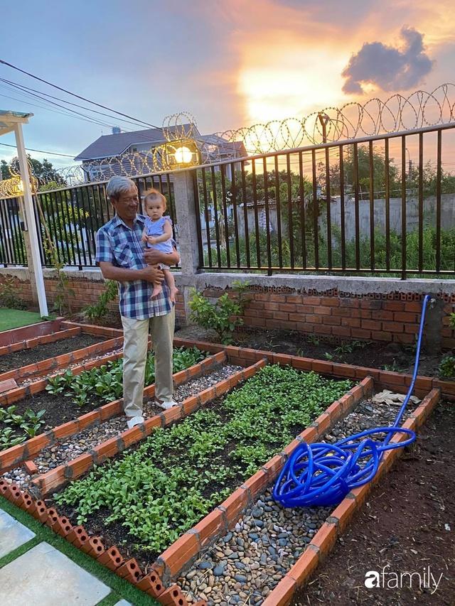 Con gái chi 500 triệu đồng xây nhà vườn container để bố về hưu thỏa mãn đam mê trồng rau ở Sài Gòn - Ảnh 17.