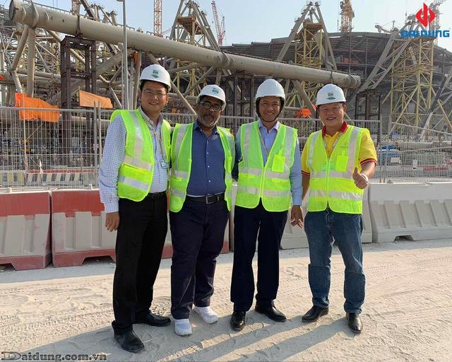 Hé lộ những hình ảnh đầu tiên của SVĐ World Cup 2022 do công ty Việt Nam thi công - Ảnh 4.