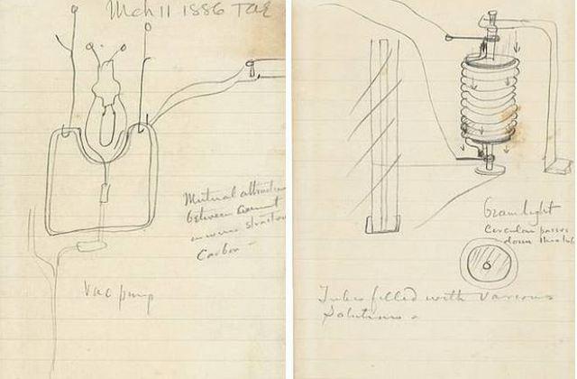 Tờ giấy vẽ hình bóng đèn được bán lại với giá 2,6 tỷ đồng - Ảnh 2.