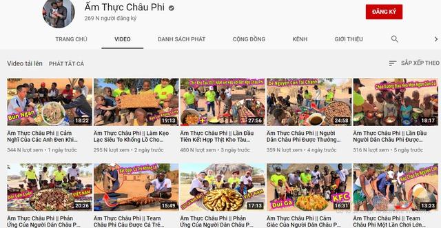 Review cuộc sống ở châu Phi, youtuber Việt đạt 1 triệu đăng ký sau 1 năm, thu nhập vài trăm triệu/tháng, thường xuyên làm từ thiện cho người nghèo - Ảnh 4.