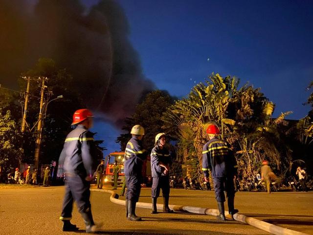Cháy lớn ở nhà kho Công ty Sunhouse - KCN Tân Tạo - Ảnh 1.