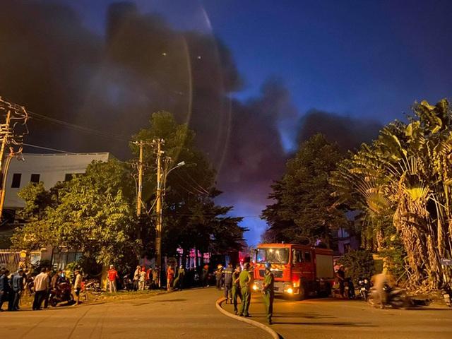 Cháy lớn ở nhà kho Công ty Sunhouse - KCN Tân Tạo - Ảnh 2.