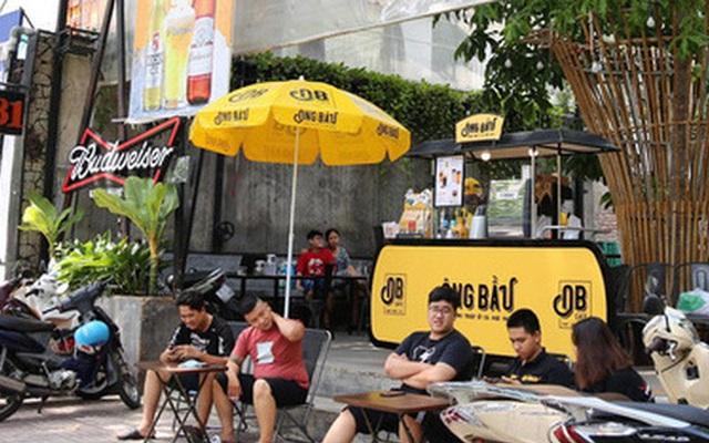 """Cà phê Ông Bầu """"bán ké"""" chuỗi nhà hàng bia, đồ nướng"""