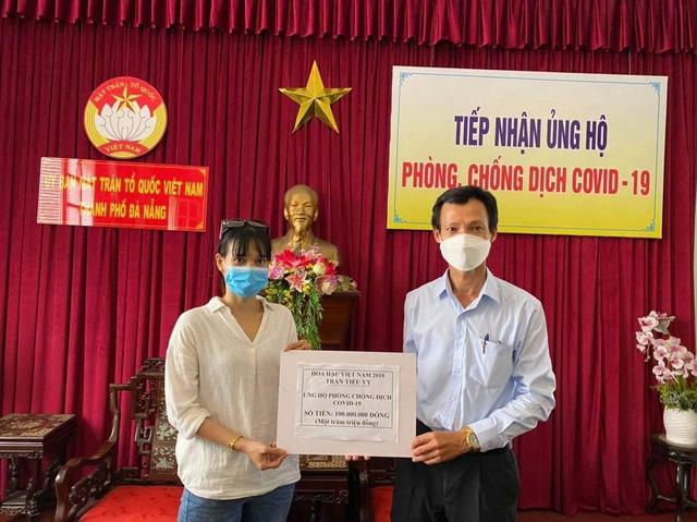 Người con Quảng Nam - Hoa hậu Tiểu Vy ủng hộ Đà Nẵng 200 triệu đồng chung tay chống dịch Covid-19 - Ảnh 1.