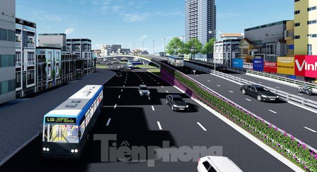 Hình ảnh thiết kế cầu vượt nút giao La Thành - Nguyễn Chí Thanh - Ảnh 10.
