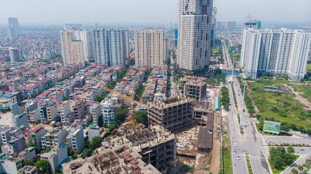 Một phần của dự án 10.000 tỷ đồng ở Hà Nội trở thành những khối nhà hoang - Ảnh 4.