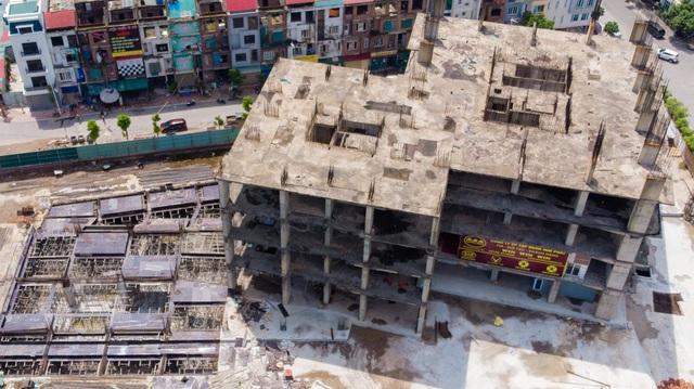 Một phần của dự án 10.000 tỷ đồng ở Hà Nội trở thành những khối nhà hoang - Ảnh 5.