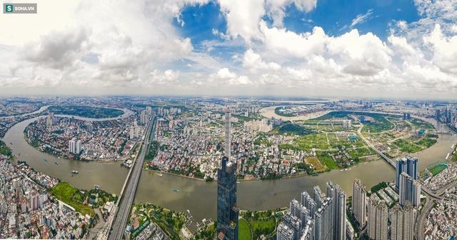 Ngắm thành phố Thủ Đức tương lai - đô thị có hạ tầng hiện đại bậc nhất TP.HCM - Ảnh 1.