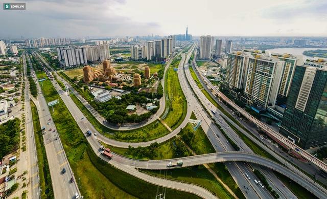 Ngắm thành phố Thủ Đức tương lai - đô thị có hạ tầng hiện đại bậc nhất TP.HCM - Ảnh 2.