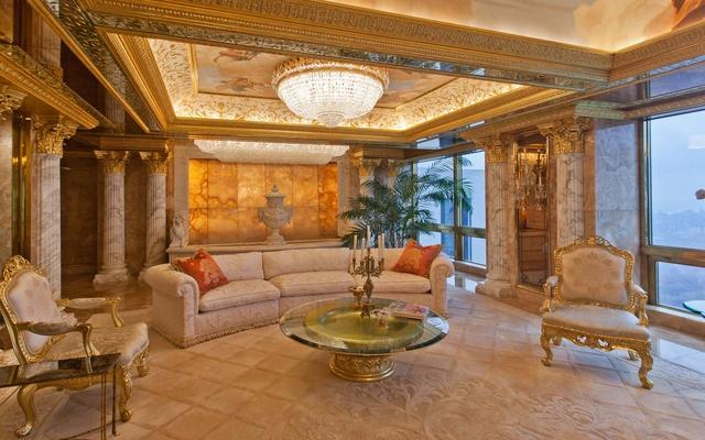 Ngắm căn Penthouse trăm triệu USD của TT Donald Trump: Dát vàng 24K mọi nơi, chi phí bảo an tốn cả triệu USD mỗi ngày - Ảnh 8.