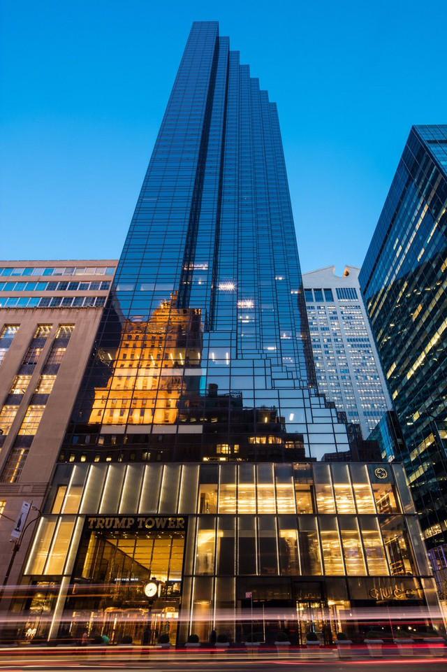 Ngắm căn Penthouse trăm triệu USD của TT Donald Trump: Dát vàng 24K mọi nơi, chi phí bảo an tốn cả triệu USD mỗi ngày - Ảnh 1.