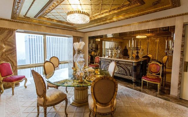 Ngắm căn Penthouse trăm triệu USD của TT Donald Trump: Dát vàng 24K mọi nơi, chi phí bảo an tốn cả triệu USD mỗi ngày - Ảnh 7.