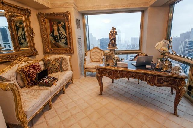 Ngắm căn Penthouse trăm triệu USD của TT Donald Trump: Dát vàng 24K mọi nơi, chi phí bảo an tốn cả triệu USD mỗi ngày - Ảnh 9.