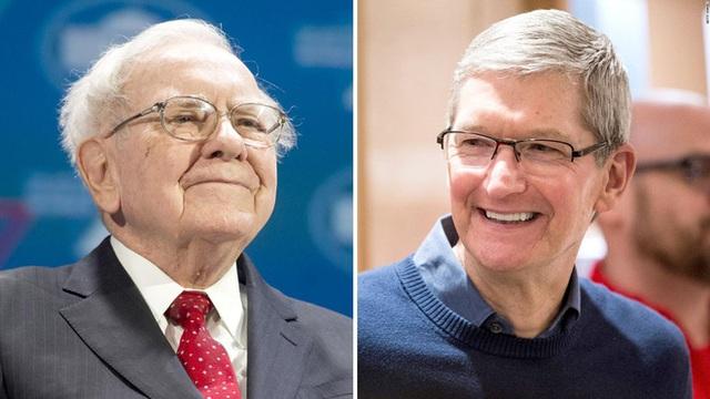 Cổ phần của Warren Buffett trong Apple đã vượt mức 100 tỷ USD - Ảnh 1.