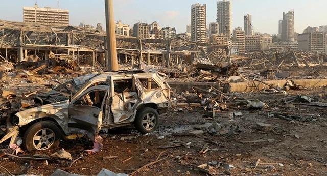 NÓNG: Nổ cực lớn, như bom nguyên tử ở Li-băng, hậu quả khủng khiếp - LHQ, Mỹ, Nga lên tiếng khẩn cấp - Ảnh 10.